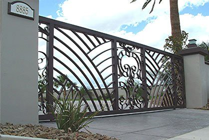Metal gate 20 39 gate designed and built by martin metal for Martin metal designs
