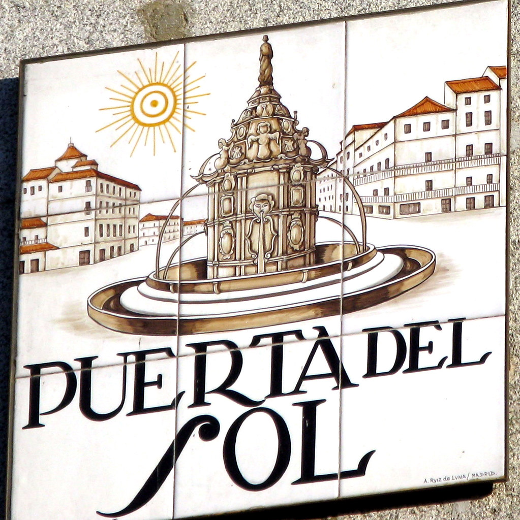 puerta del sol 10 9 08 1a old tile street sign for puert flickr Coast Costa Del Sol Spain puerta del sol 10 9 08 1a by laura padgett andersen