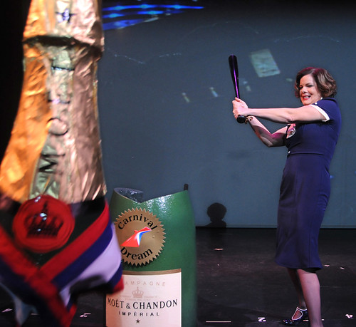 Carnival Dream Naming Ceremony - Marcia Gay Harden_3 | by Carnival Cruise Lines
