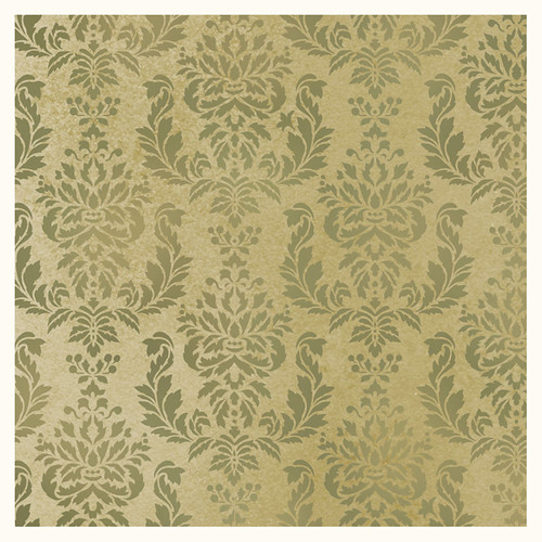 Jones Design Company Wall Stencil : Damask wall stencil verde beautiful stencils by cutt