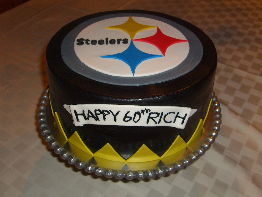 steelers birthday cake steelers cake april flickr 7699