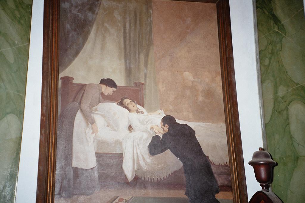 Auguste Comte Au Chevet De Clotilde De Vaux Tableau Flickr