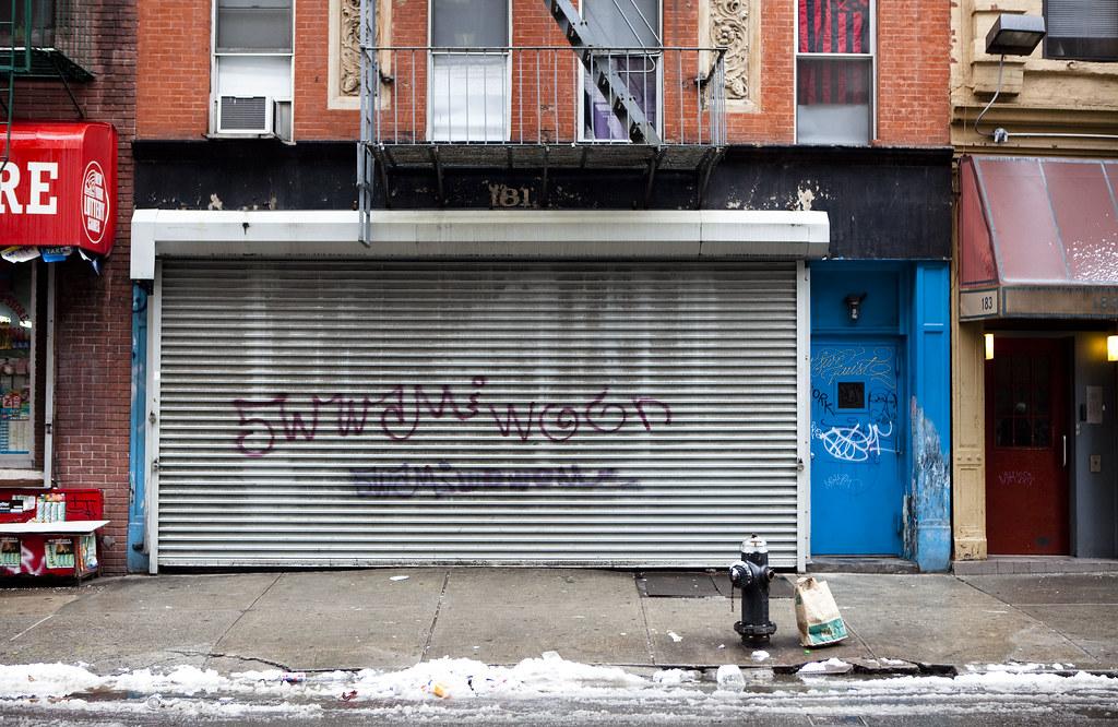 Storefront Metal Gates Of New York Graffiti Storefronts