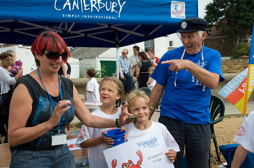 I caught the Biggest Crab | by Whitstable Oyster Festival