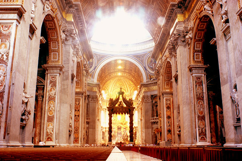 Inside The Papal Basilica of Saint Peter | by Ramon Stoppelenburg