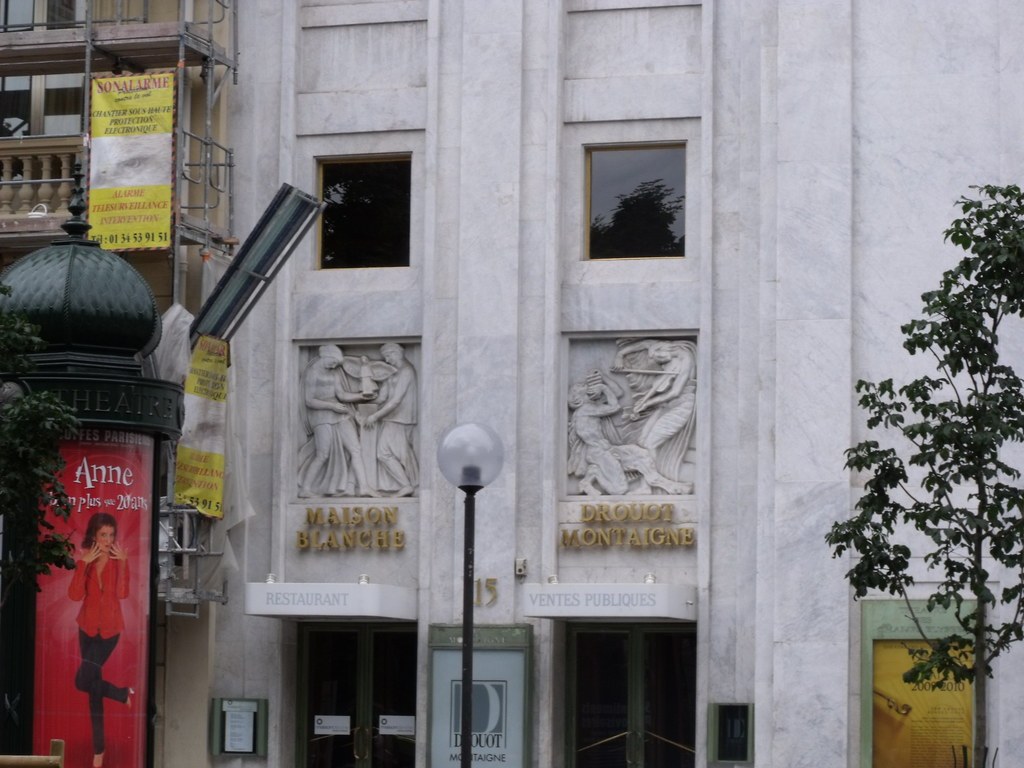 Theatre des champs elysees avenue montaigne paris mai flickr - Maison des champs elysees ...