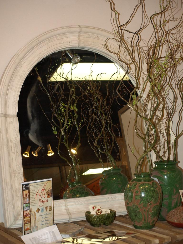 Arched Stone Mirrors | Dallas Market Center hosts vendors ...