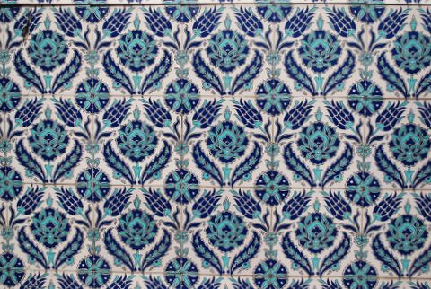 Patterned Tiles Istanbul Turkey June 2009 Mksfly