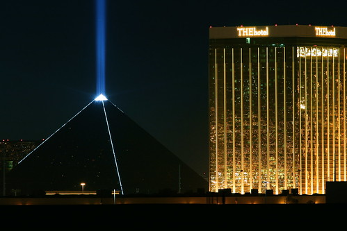 Sky Beam and Mandalay Bay | by Motel George