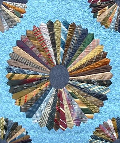 Necktie Quilt By Bonnie Harmon Quilted By Dlq Kelli Boyer
