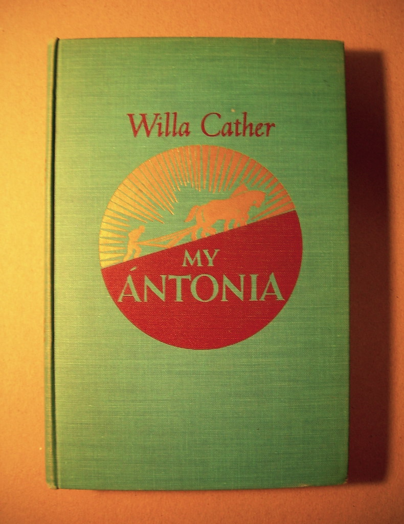 a character analysis of willa cathers book my antonia