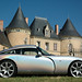 TVR T350T outside a Chateau