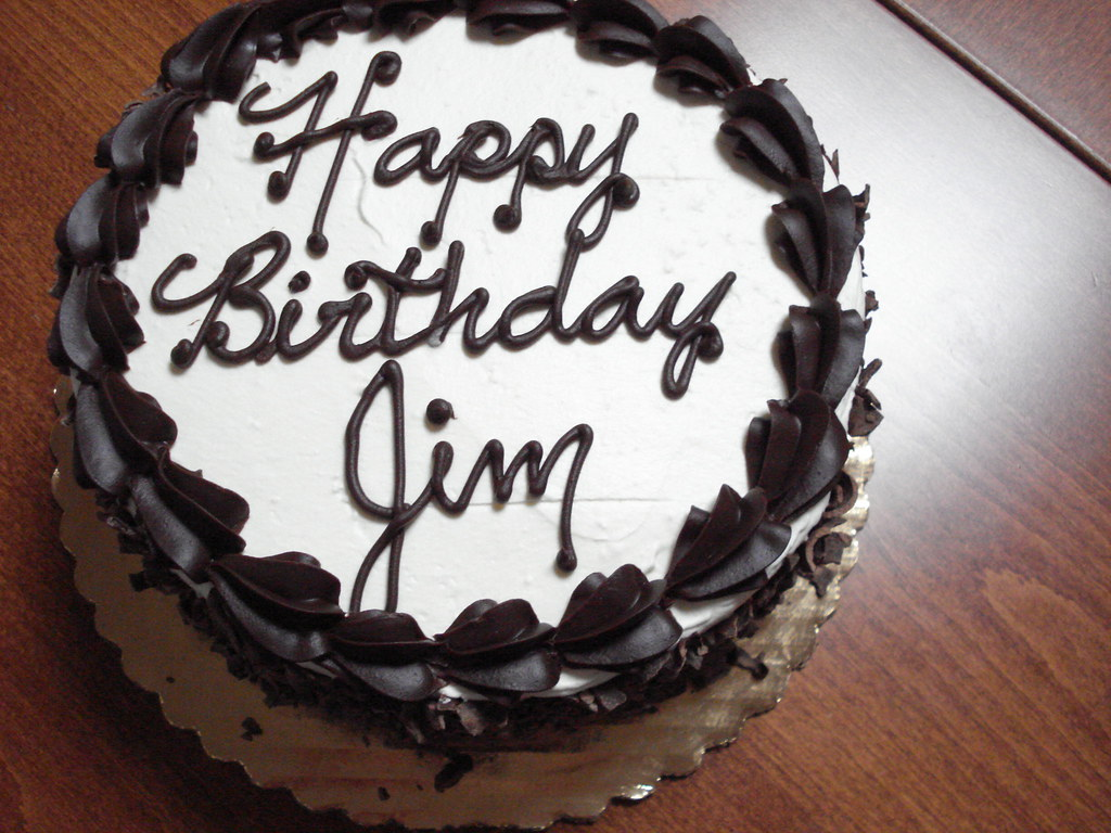 Image Result For Happy Birthday Cake To Jim
