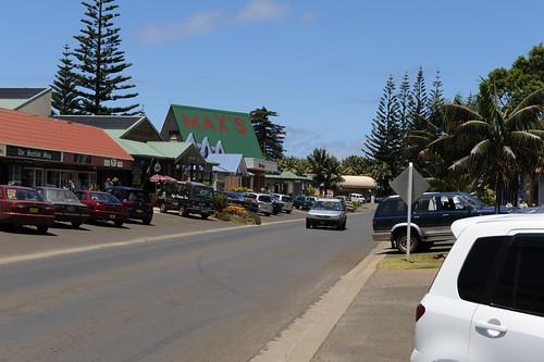 Main Street Of Norfolk Island