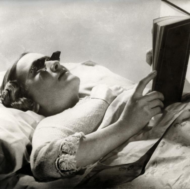 Bedbril / Glasses for reading in bed