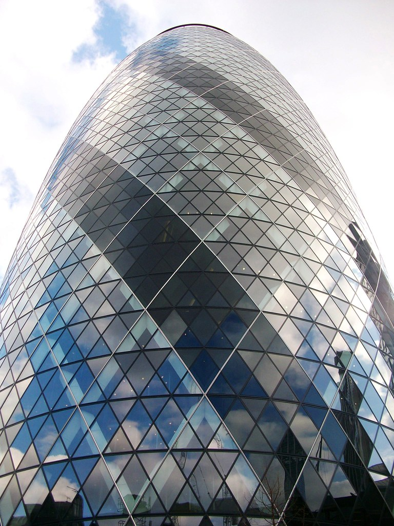 London Egg Building | I don't know the name of this one