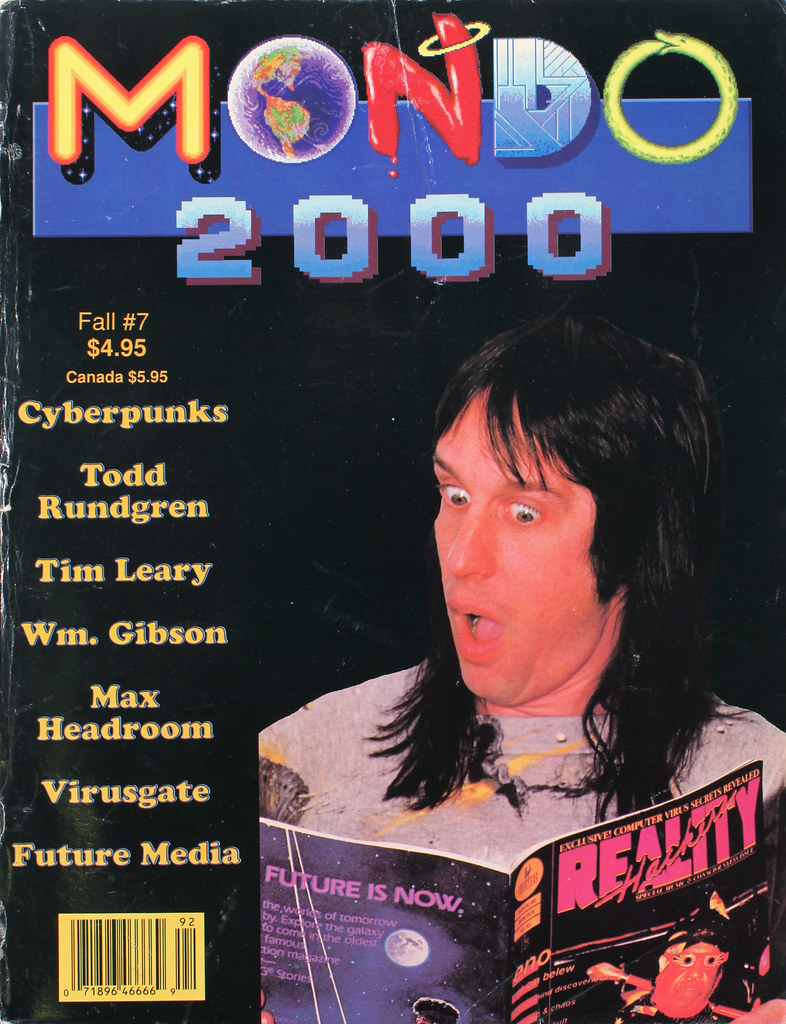 Mondo 2000 Fall #7, 1989 (reality hackers) | Although it say… | Flickr
