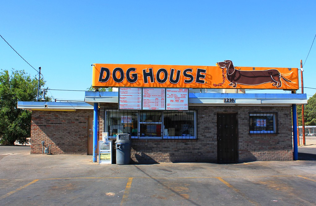 Dog house drive in 1216 central avenue southwest for Dog house albuquerque