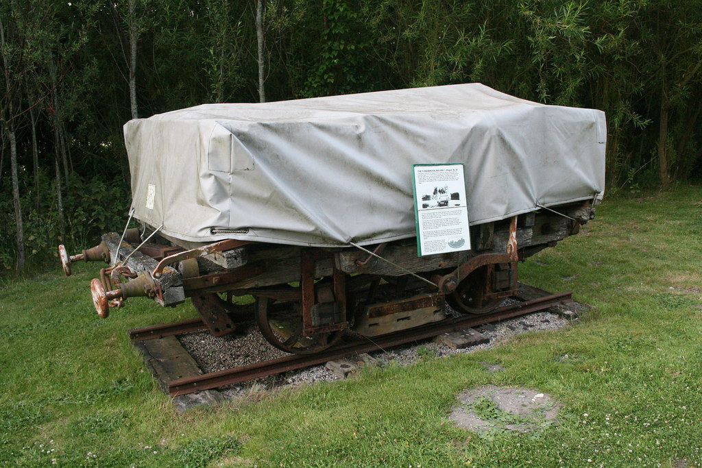 Fayles Tramway Wagon At The Purbeck Mining Museum