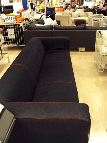 Ikea Klippan 4 Seater Sofa with slipcover $499  There is a …  Flickr