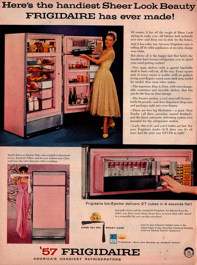 Frigidaire Refrigerator Ad Quot Better Homes And Gardens