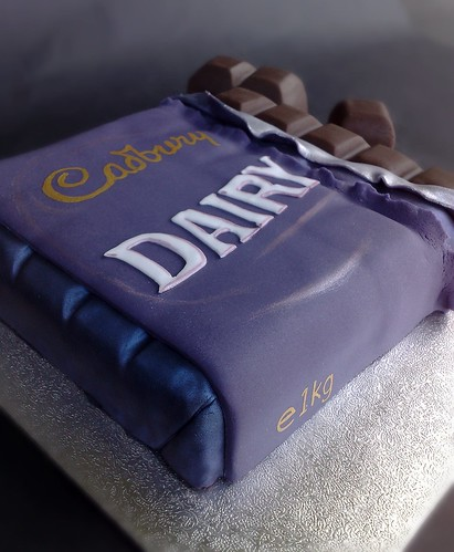 Dairy Milk Bar Cake | by SmallThingsIced