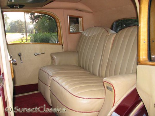 1935 Rolls Royce 20 25 Limousine Interior Step On In And