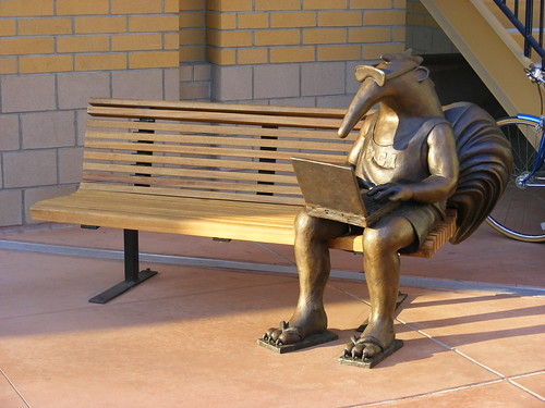 Geek Anteater, UC Irvine | by slasher-fun