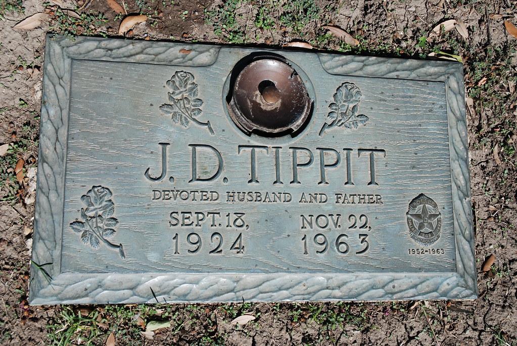 J D Tippit Laurel Land Memorial Park Cemetery Dallas