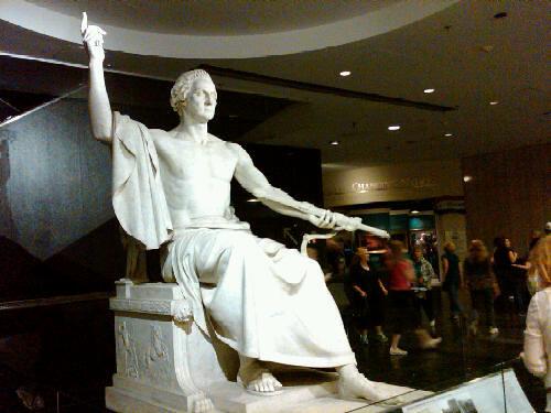 George Washington >> George Washington as Zeus | Timothy Meyers | Flickr