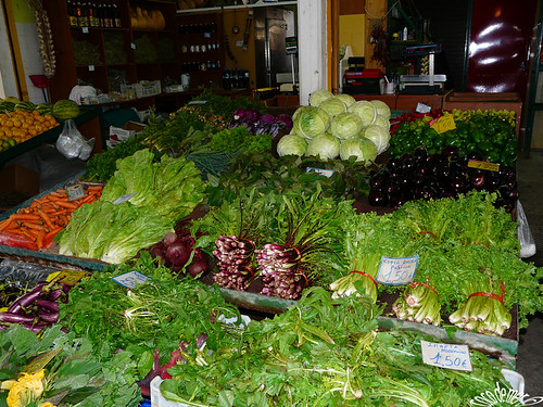 greens at greek market | by seychellois