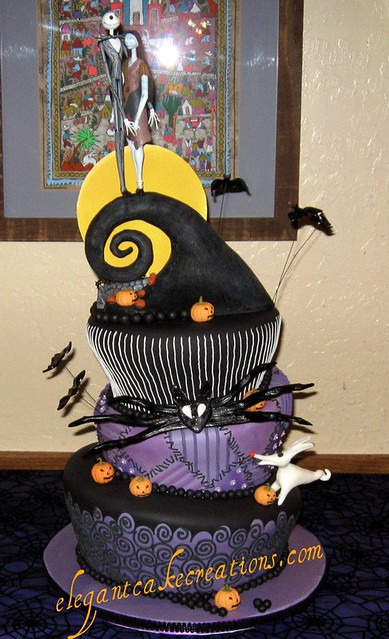 nightmare wedding cake topsy turvy wedding cake with