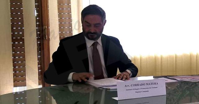 avv. Corrado Matera assessore al Turismo della Regione Campania[