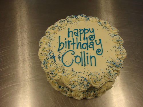 Happy Birthday Colin Cake