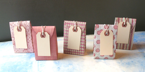 Set of 10 Gift Boxes - Pink 1 | by Paper Acorn