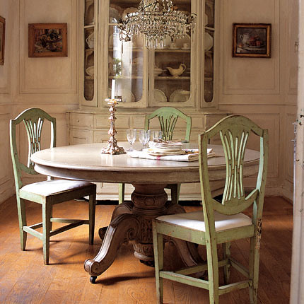 French Dining Room Ashley Flickr