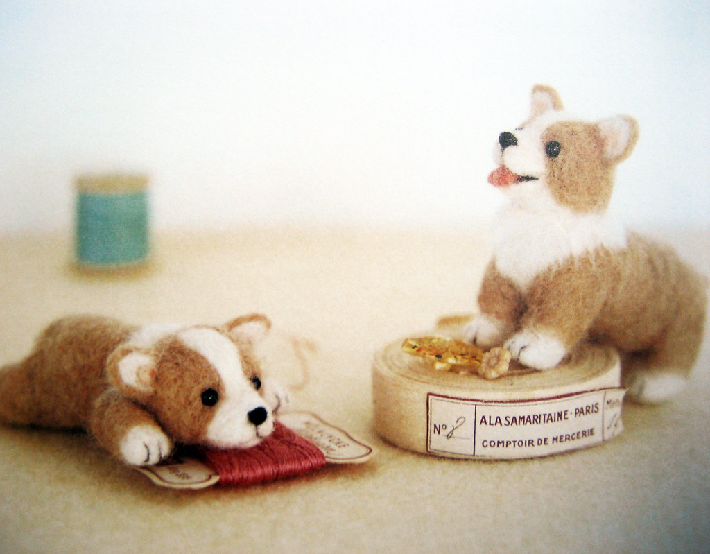 9784277563185 Needlefelted Small Dogs Welsh Corgi Flickr
