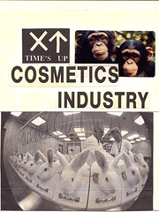 Stop animal testing - cosmetic industry