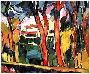 Fauvismo maurice de vlaminck un instinto fauve pinturas flickr - Pintura instinto ...