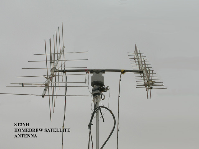With you how to build amateur satellite antennas