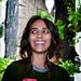 Maya Nayak with Window Farms by Britta Riley / Eyebeam Open Studios Fall 2009 / 20091023.10D.55539.P1.L1 / SML