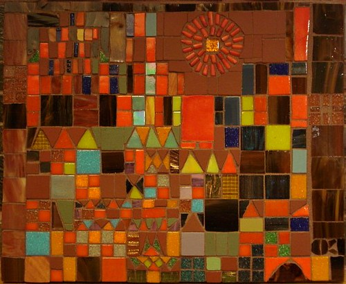 Paul Klee Castle And Sun Reproduction In Mosaic No Flash Flickr