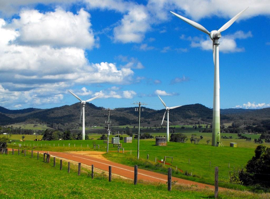 Windy Hill Wind Farm Ravenshoe Queensland Windy Hill