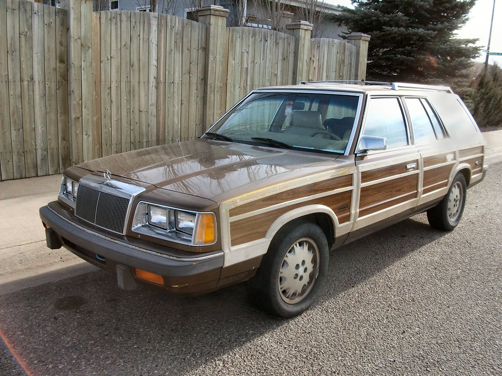 1986 Chrysler Lebaron Town Amp Country Station Wagon Flickr