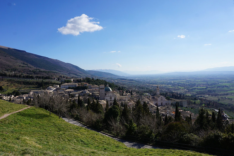 Assisi view from above