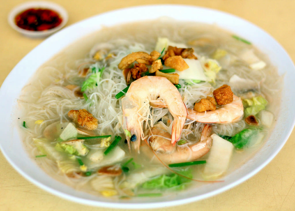 Hawker Centre in Singapore: Changi Village Food Centre White Beehoon