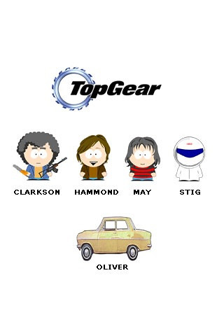 Top Gear South Park Iphone Wallpaper Cvanderwolk Flickr