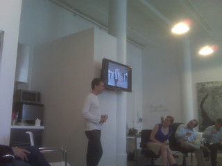 At betaworks watching @heif talk about his trip to Iraq | by fredwilson