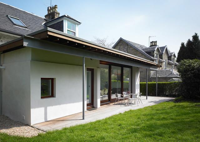 Gardenroom kilmacolm modern glasgow architectural desig for Home design extension ideas