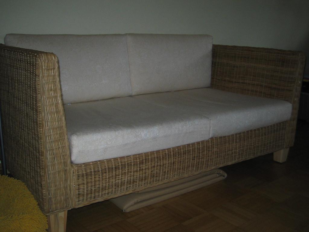 ikea rattan sofa rohan flickr. Black Bedroom Furniture Sets. Home Design Ideas